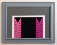 empty pink closet